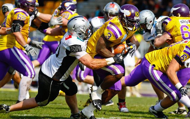 Swarco Raiders y Vienna Vikings, dos de los miembros de la EFL Elite (AustrianBowl.com)