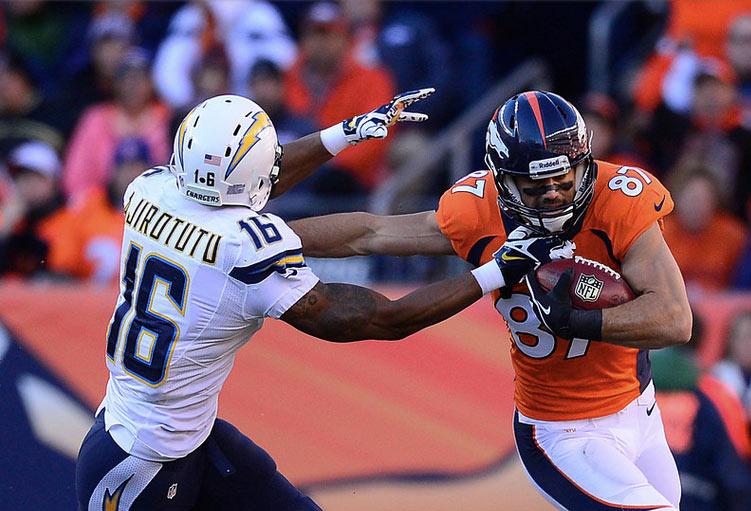 Los Broncos dominaron de principio a fin (AP)