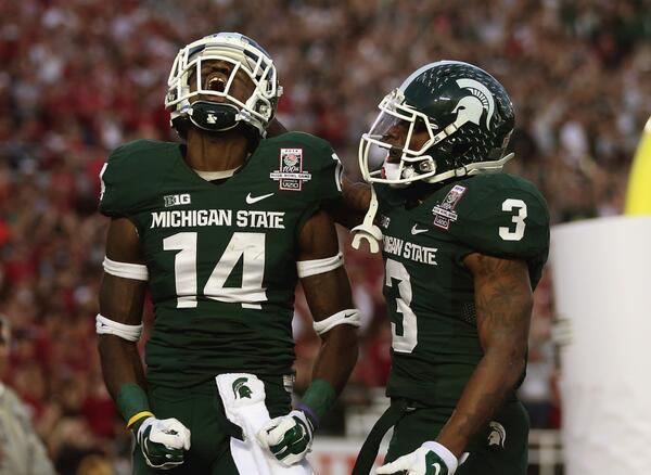 Michigan State se hizo grande en la Rose Bowl (AP)