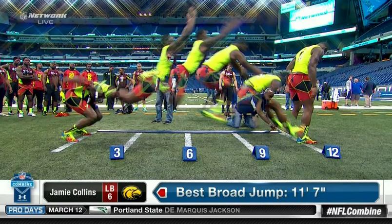 b jump