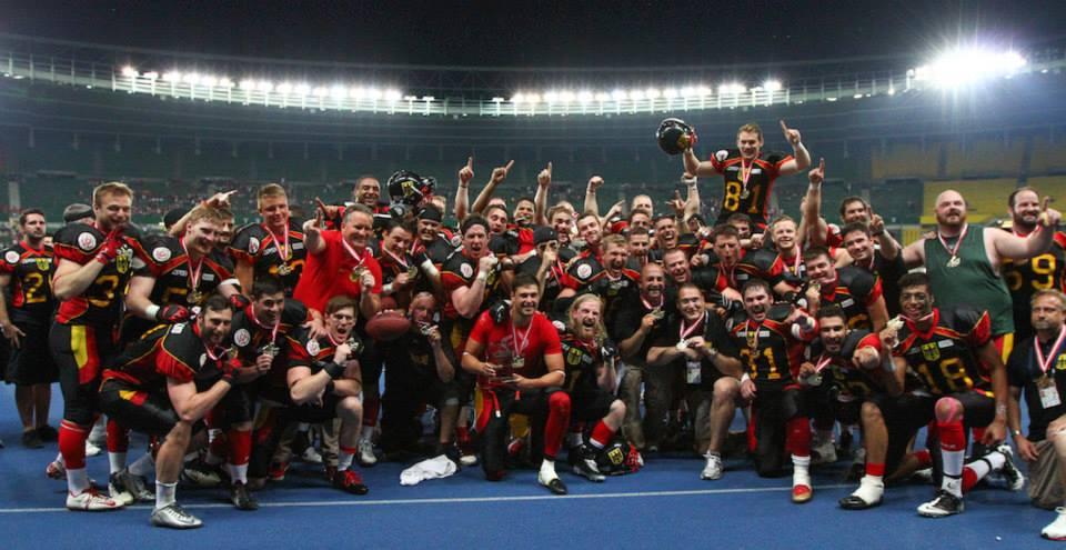 Alemania volvió a reinar en Europa (TouchdownAustria)