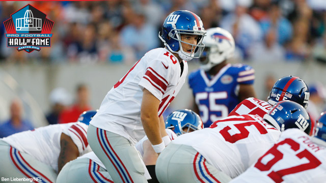 Eli Manning terminó jugando 3 drives tras perder un fumble (NFL.com)
