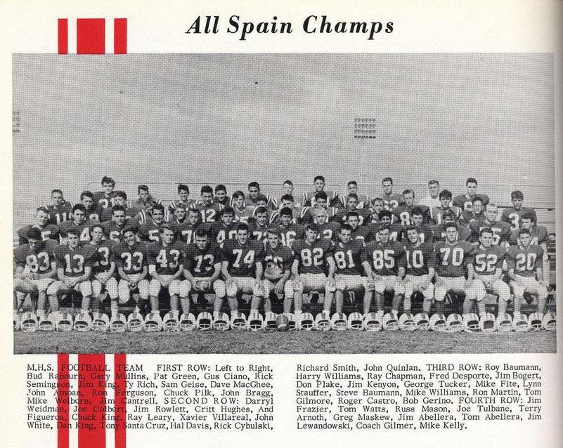 historia football-60s