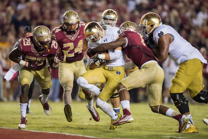 Florida St y Notre Dame dieron un gran espectáculo (AP)