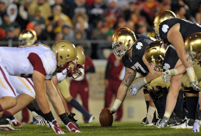 """Boston College Vs. Notre Dame, """"The Holy War"""""""