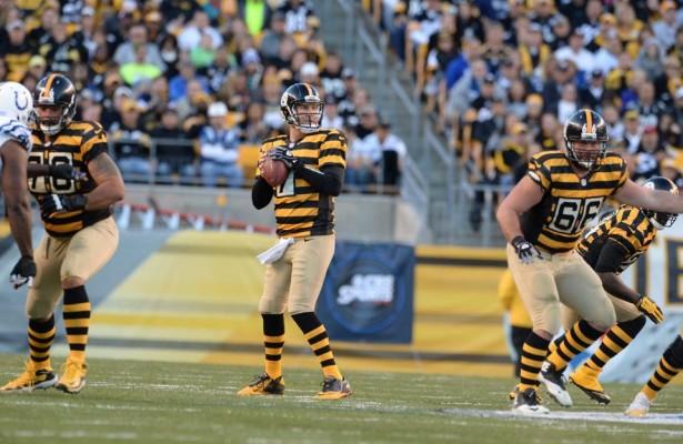 Big Ben destrozó a los Colts (Steelers.com)