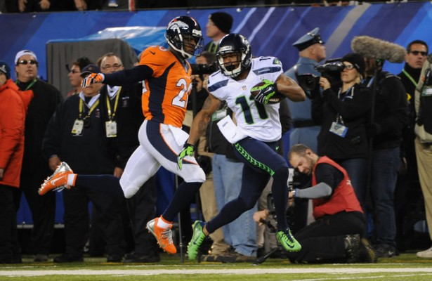 Harvin durante la pasada Super Bowl (AP)