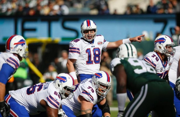 Kyle Orton despachó 4 pases de touchdown (buffalobills.com)