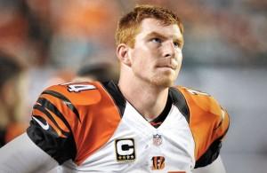 Andy Dalton, QB de los Cincinnati Bengals (AP)