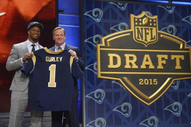 Los Rams apostaron fuerte por Todd Gurley (AP)