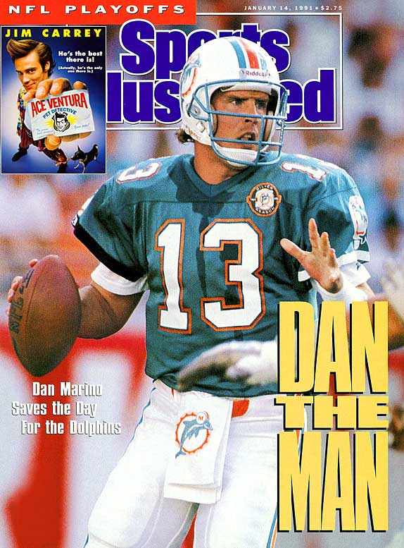 """Dan Marino era el """"hombre"""" en los Dolphins"""