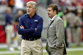 John Schneider y Peter Carroll, arquitectos de los Seahawks