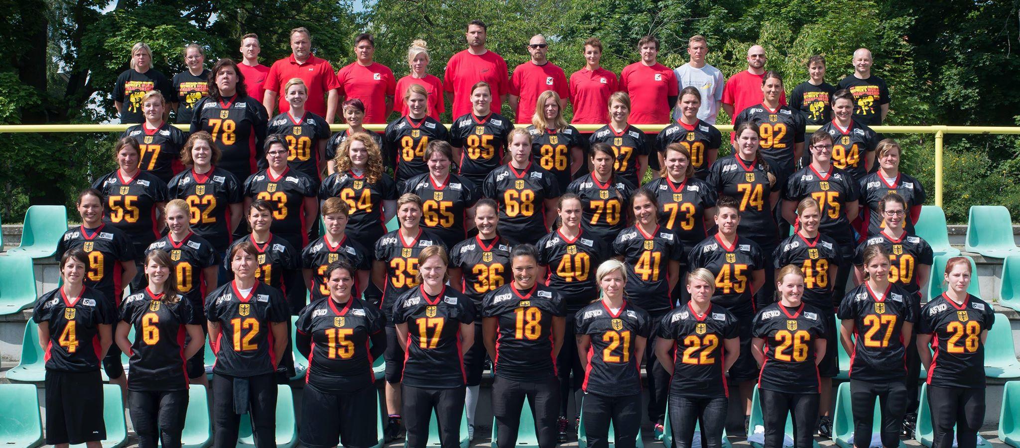 La selección alemana (AFVD)