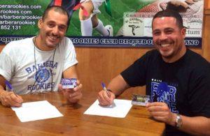 Sebas Serrano (izquierda) y Teo Polanco (Rookies/FB)