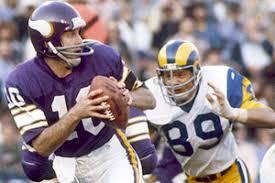 Mi primeros recuerdos de la NFL son sobre Frank Tarkenton