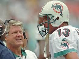 Dan Marino y Jimmy Johnson en sus años en Miami