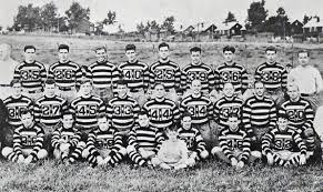 Plantilla de la primera temporada de los Steelers en 1933