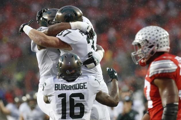 Michigan State acabó con la racha de los Buckoeyes