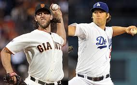 """Madison Bumgarner y Clayton Kershaw, dos """"Aces"""" del mundo del baseball"""