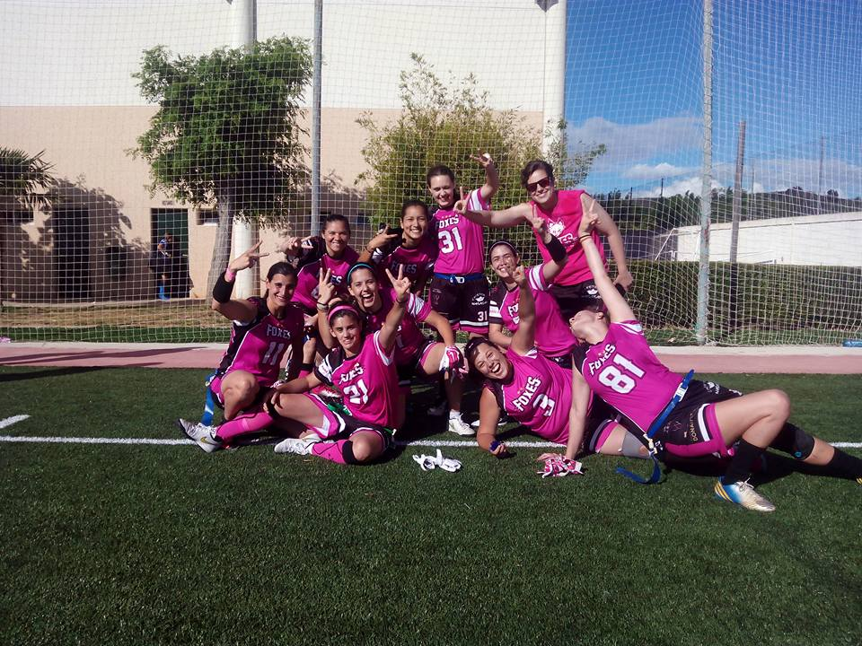 Foxes 82, campeonas de la Spanish Flag Bowl